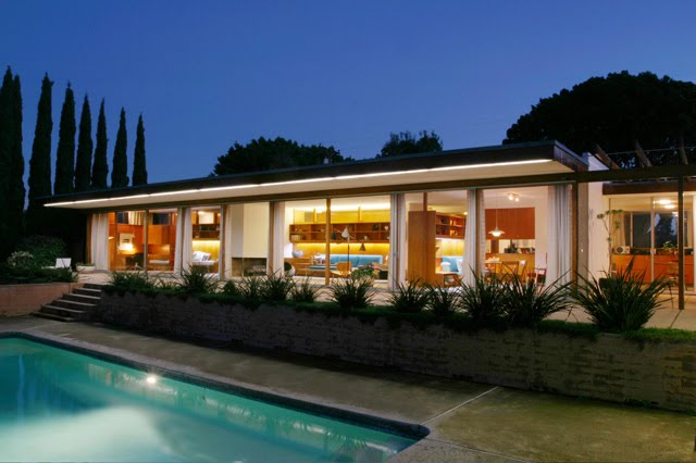 Palm springs house 1950s modern design by for Architecture 1950