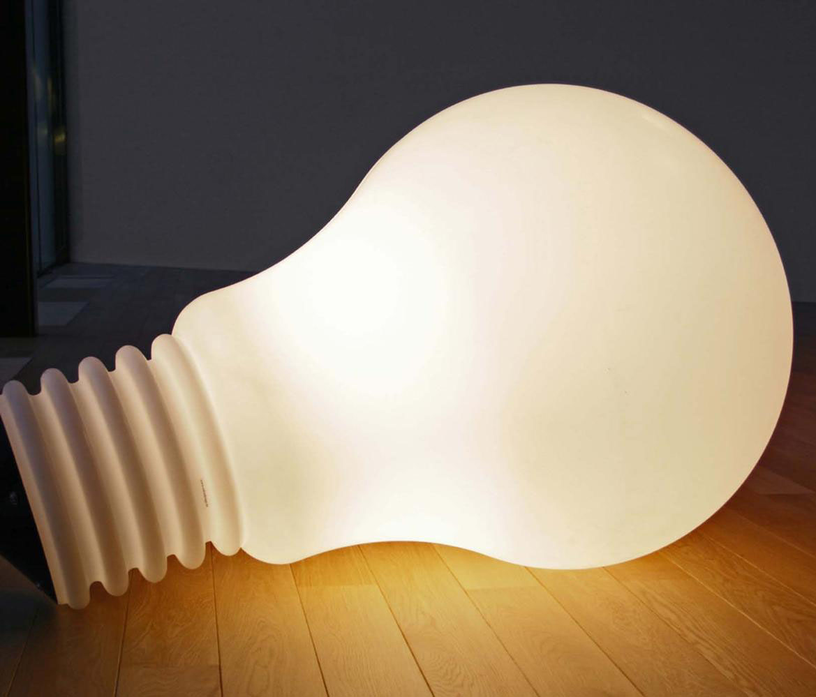 Extra Large Bulb Light Modern Design By