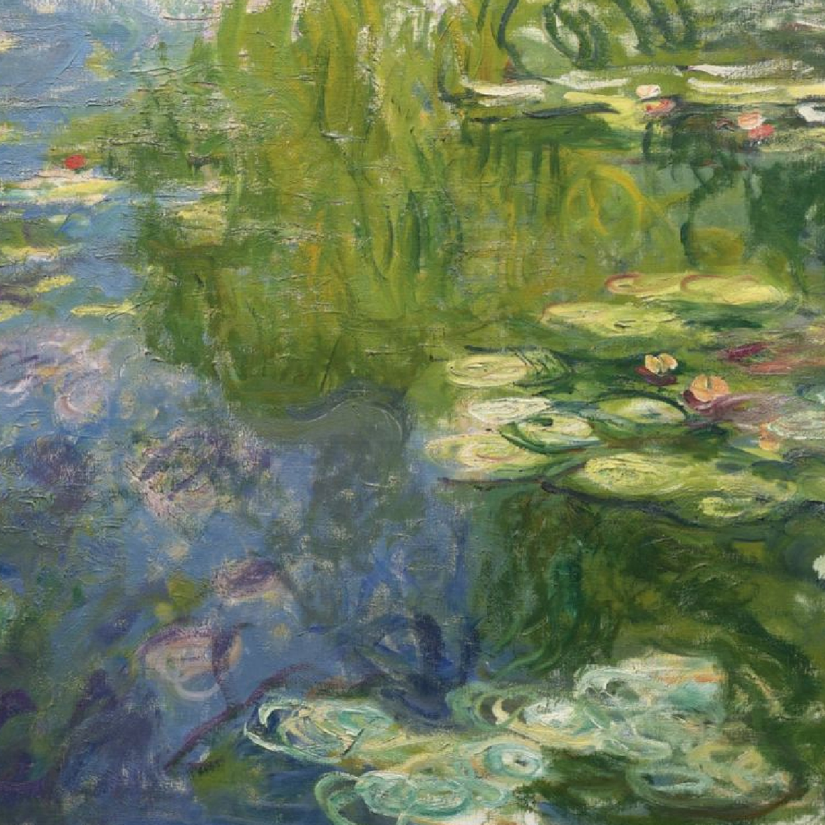 Claude Monet Le Bassin Aux Nympheas #10: Art By Claude Monet. Claude Monet. Le Bassin Aux Nymphéas