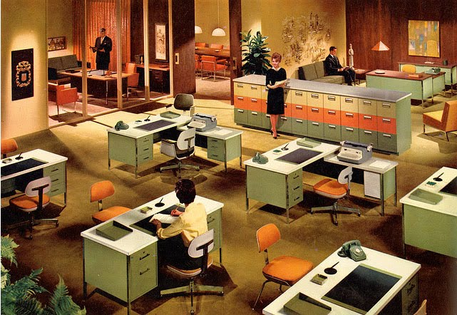 Design context for 60s office design