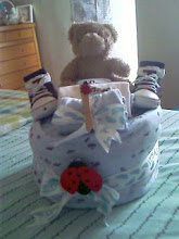 OUR PRODUCT - DIAPER CAKE FOR BOYS
