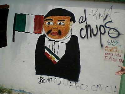 Juárez ante la patria ultrajada