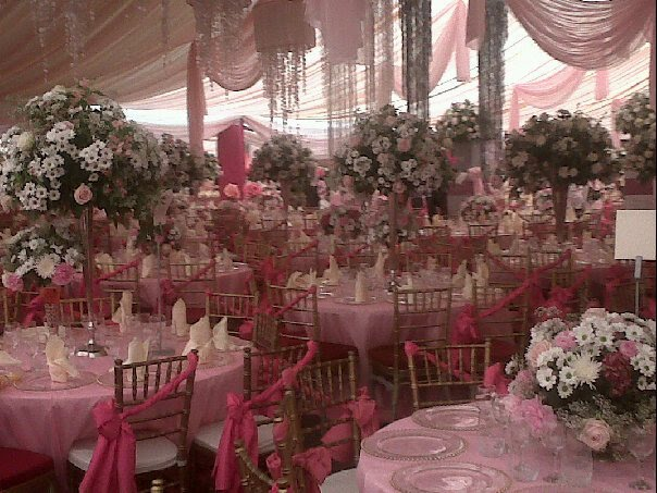 Bella adenugas wedding decor by newton david just u magazine if there is a wedding which top society people are getting ready for it is that between pretty bella the daughter of otunba mike adenuga the globacom junglespirit Choice Image
