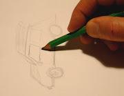 Vous voulez participer à l'écriture du Petit Louis ? Vous voulez l'illustrer . (dessin voiture)