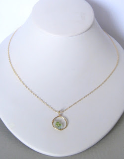 custom family birthstone gemstone necklace