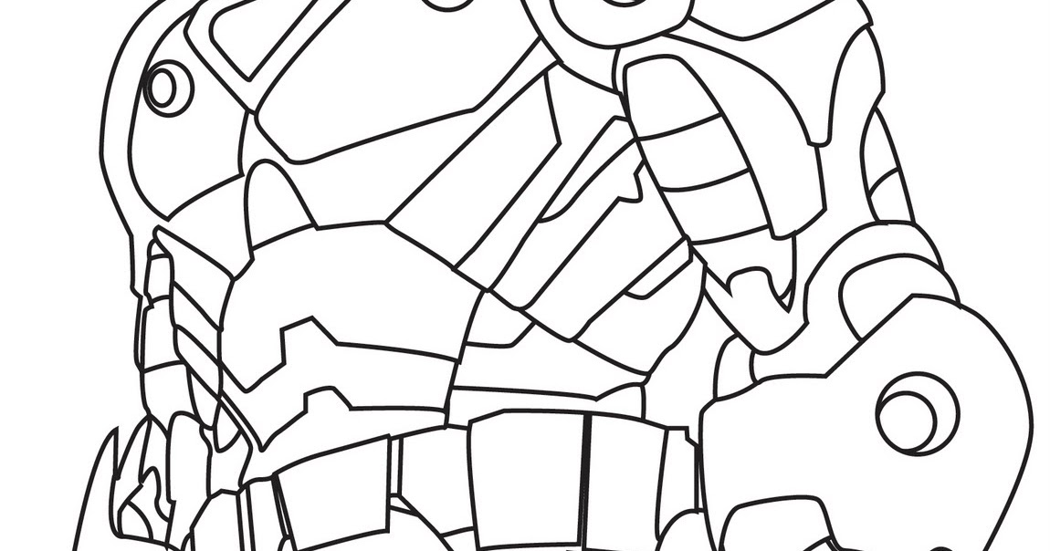 Iron Man 2 Coloring Pages Collections | kentscraft