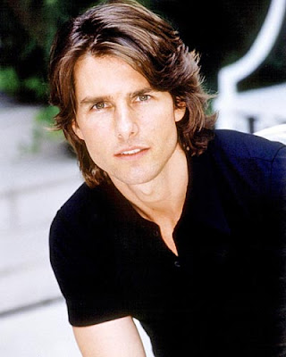 tom cruise mission impossible hairstyle. Tom Cruise medium long hair