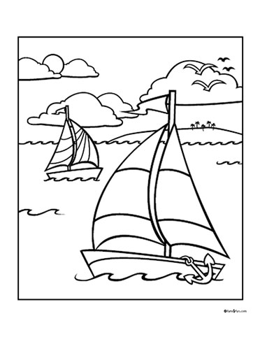 Funny Summer Coloring Pages Part Ii June Coloring Pages
