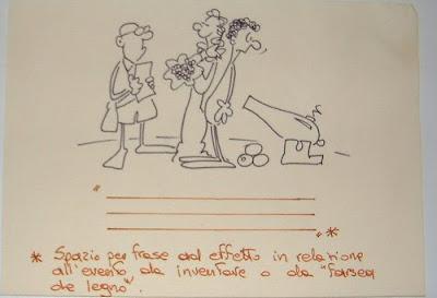 Funny Wedding Invitations - Caricature Style