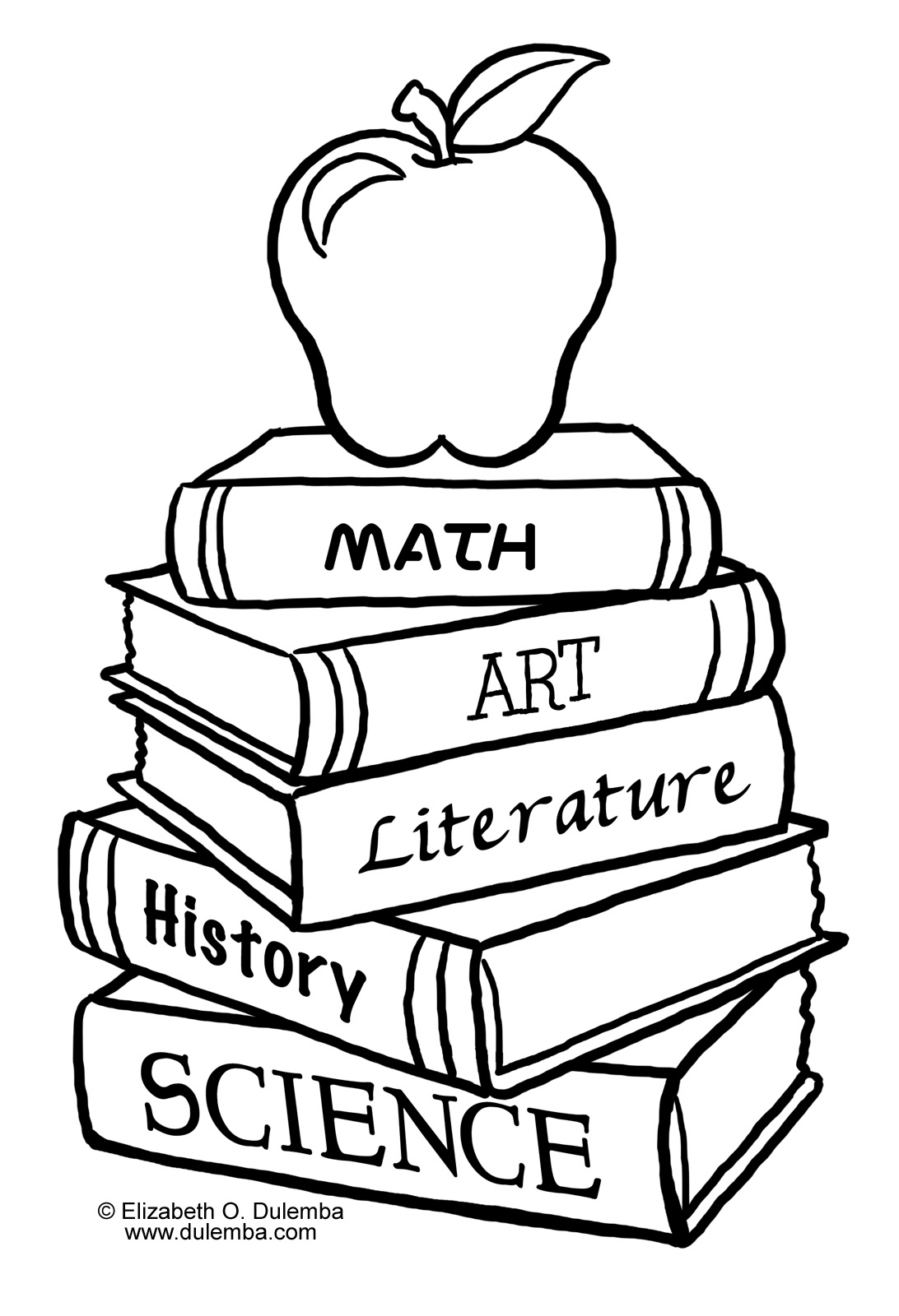 Back School Coloring Pages Happy