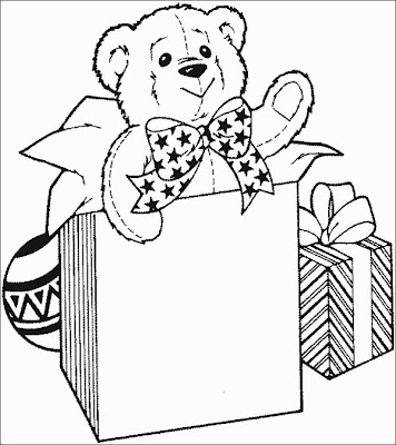 newkids christmas gifts coloring page