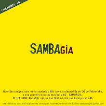 Lançamento - CD SambaGIA vol.1