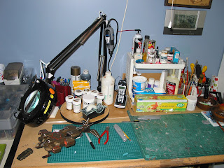 Studio – Painting + Modeling Set-Up