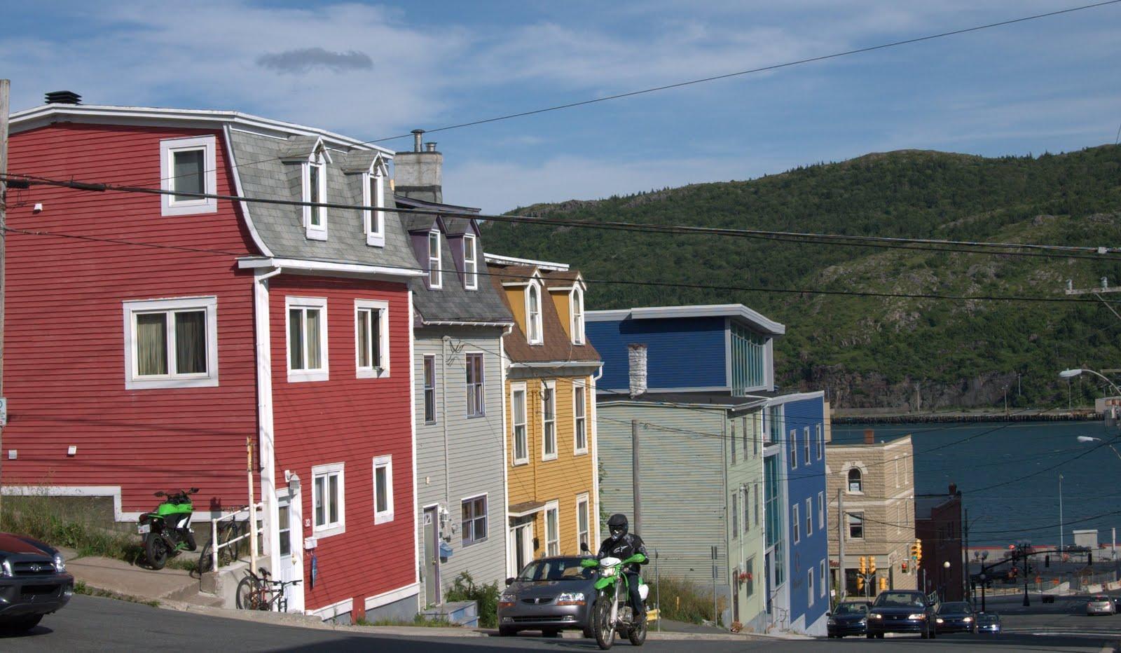 St john s newfoundland weird wild and wonderful a for Newfoundland houses