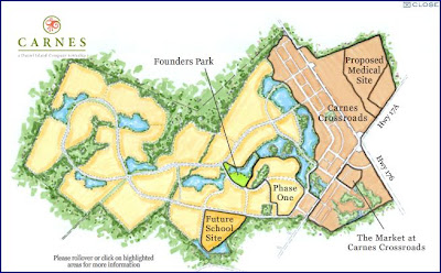 Carnes Township in Berekely county South Carolina