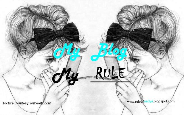 My Blog My RULE!
