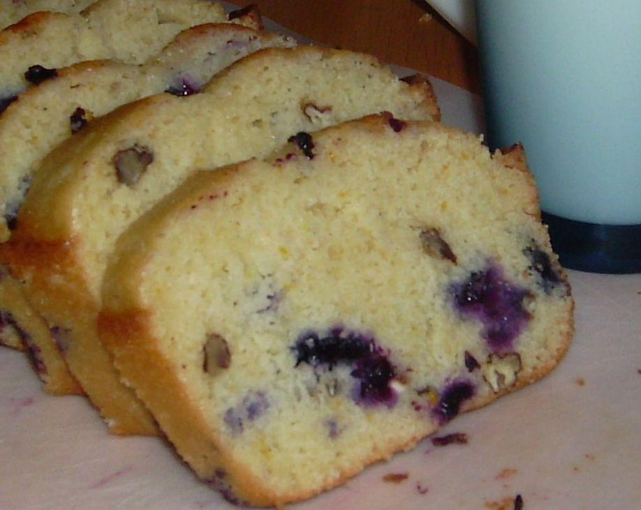 My Once A Week: Orange Blueberry Pound Cake