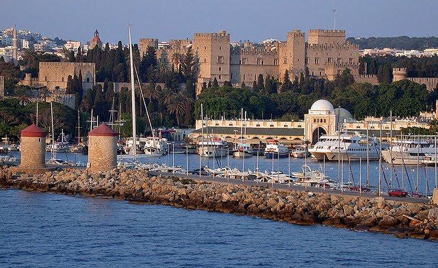 Rhodes Town - Rodos Town - Greece  ISLAND-RHODES
