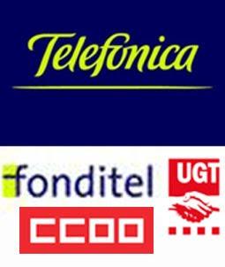 Beneficios de CC.OO. y UGT en Fonditel. Fondo de Pensiones de los empleados de Telefónica