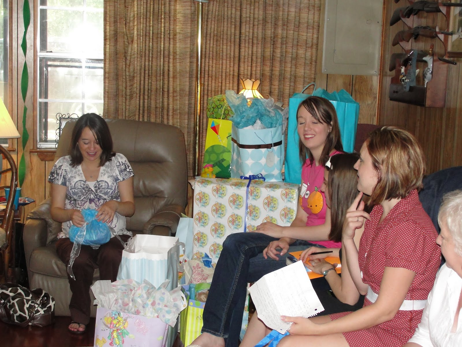"Raising Identical Twin Boys and a ""Princess"" Baby Shower 29 Weeks"