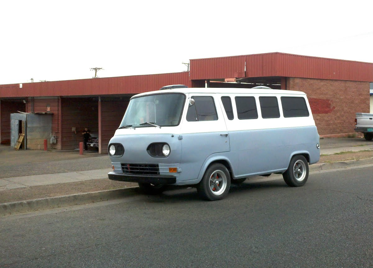 19611967 Ford Falcon Van