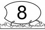 04 9 150x102 Centopéia dos números para crianças