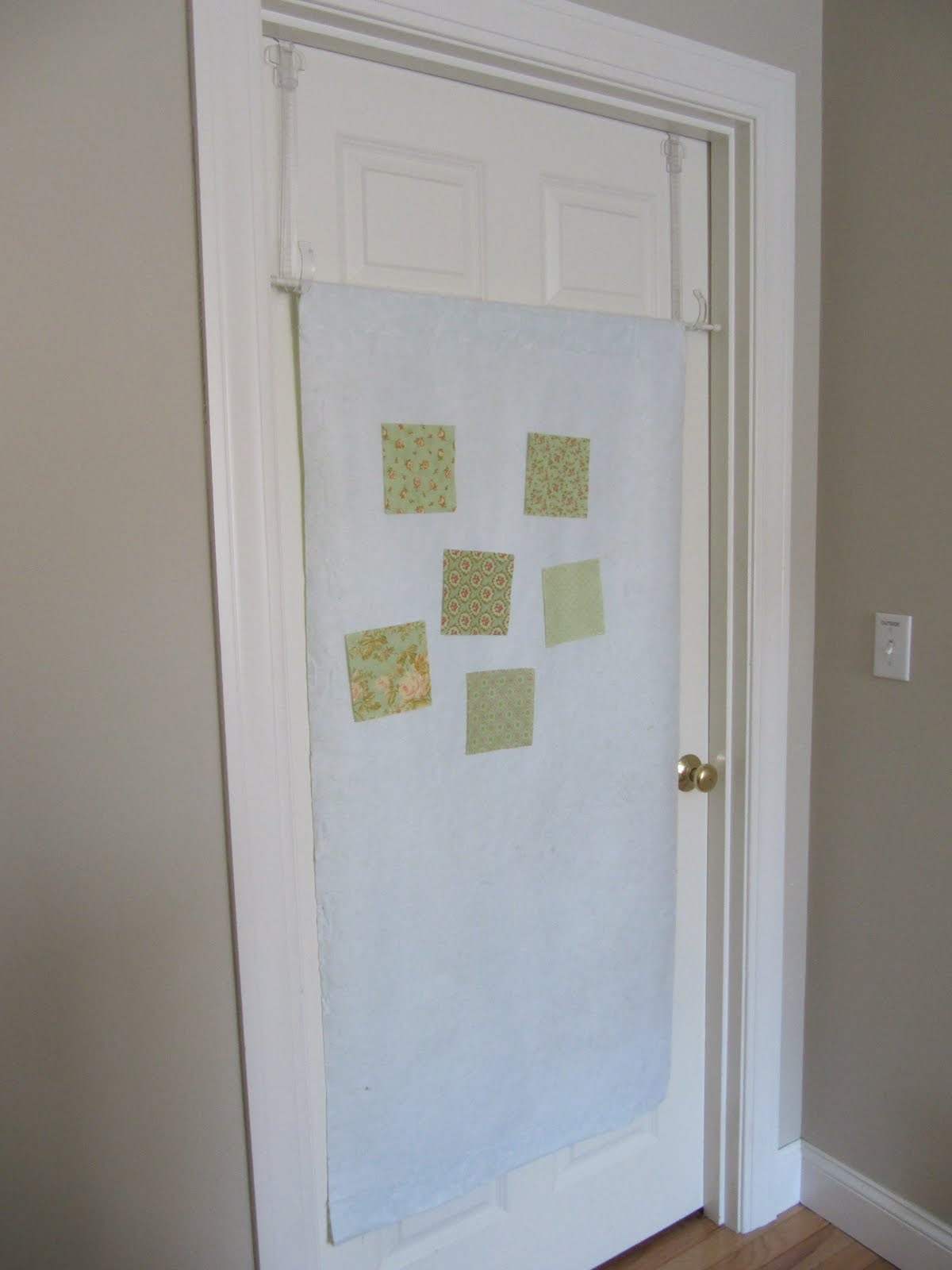 Sew many ways tool time tuesday door design wall for Door design tool
