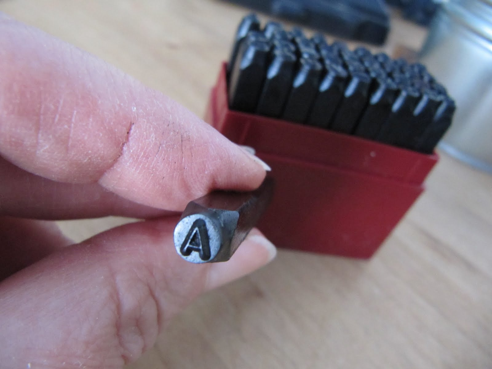 Sew Many Ways Hand Metal Stamping