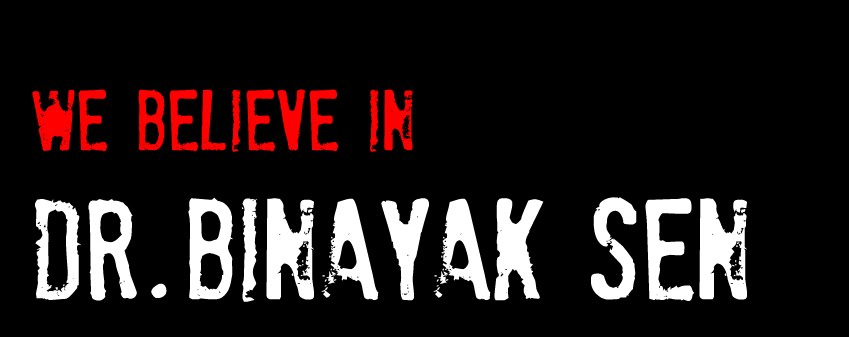 Students in Support of Dr. Binayak Sen