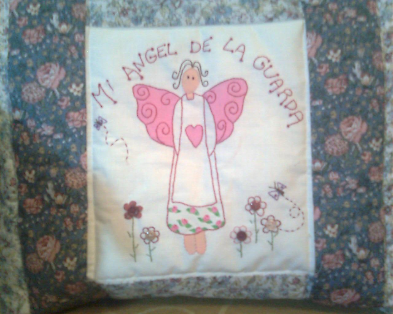 Vitrina norarte coj n angelito patchwork - Tecnicas de patchwork a mano ...