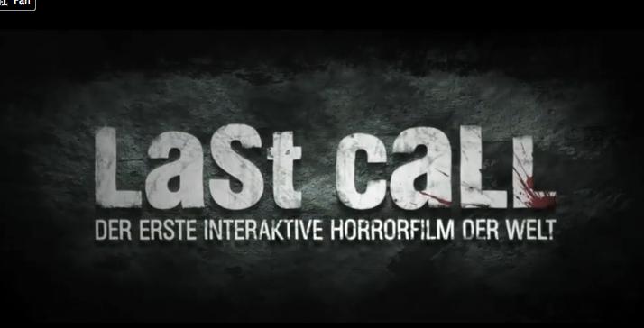 Pelicula de terror interactiva.