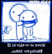 Si la vida no te sonríe....