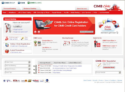 Login at cimbclicks online banking | How to register at www.Cimbclicks.com.my