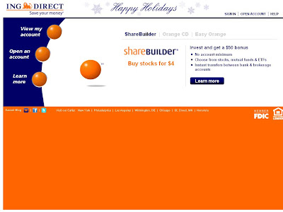 www.INGDirect.com - login to ING Direct's MyAccount Section