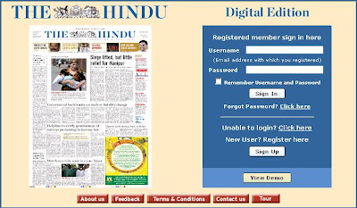 The Hindu ePaper : English Online Newspaper at ePaper.thehindu.com