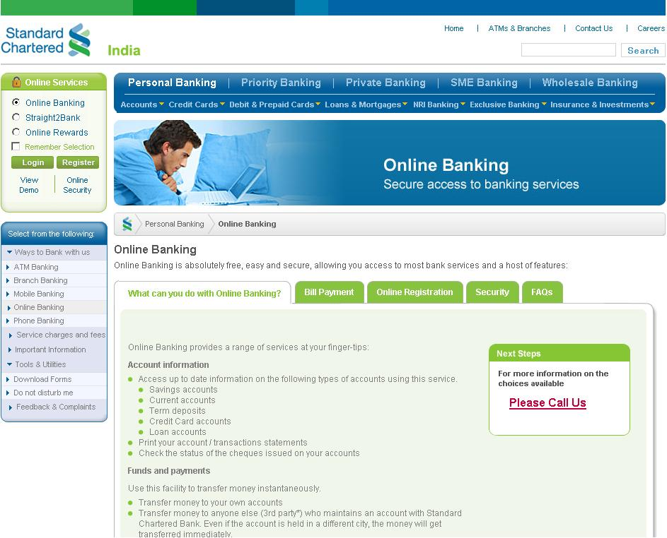 Standard Chartered Online Banking - User Guide For India ...