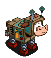 Image result for robot cow