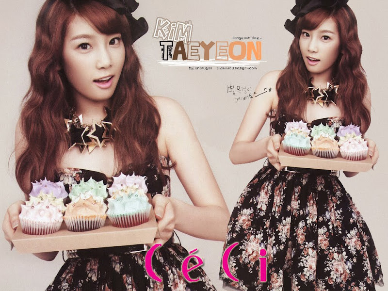 Taeyeon SNSD - Free Desktop Girl generation Wallpaper Computer Download