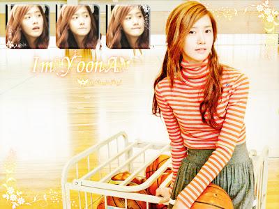 Wallpaper Yoona SNSD