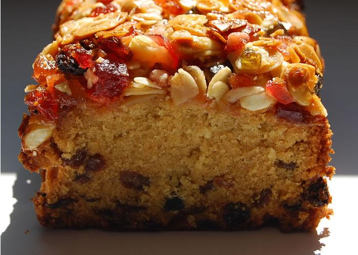 Le Vrai Cake Aux Fruits Confits
