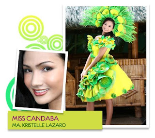 Best in Cultural Attire - Ma. Kristelle M. Lazaro (Municipality of Candaba)