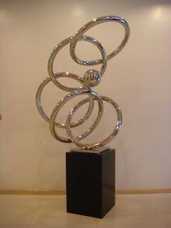 Dancing Ring by Filipino artist Joe Datuin