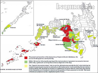 Composition of the ARMM