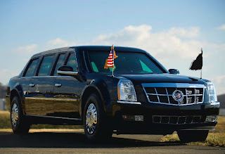 US Presidential State Car-2009 Cadillac Presidential Limousine