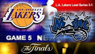 Watch Video Live Los Angeles Lakers vs Orlando Magic Game 5 NBA Finals 2009 Online