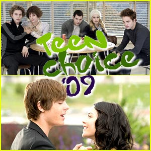 11th Teen Choice Awards 2009 Nominees