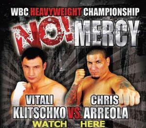 Watch Vitali Klitschko vs. Cristobal Arreola Live Free Online