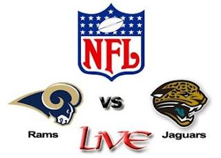Watch NFL St. Louis Rams vs. Jacksonville Jaguars Live Online