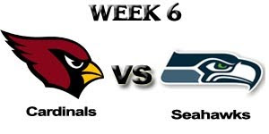 Watch NFL Arizona Cardinals at Seattle Seahawks NFC West Live Online