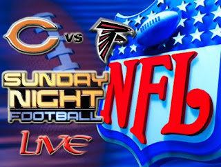 Watch NFL Sunday Night Football Chicago Bears vs. Atlanta Falcons Live Online